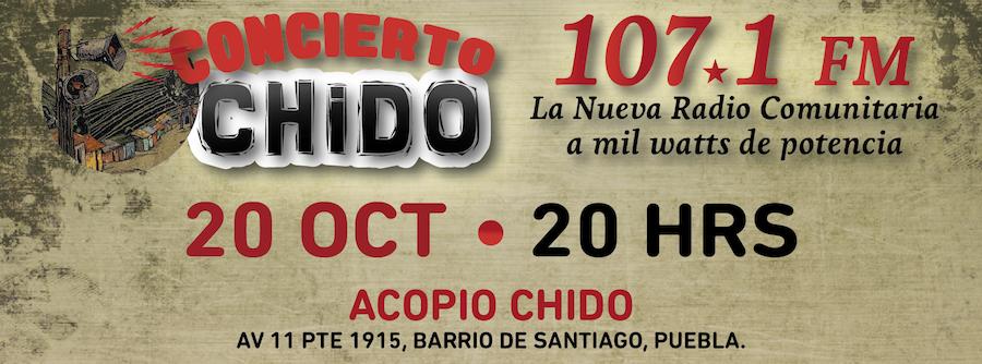 Concierto a beneficio de la Radio Comunitaria 107.1 FM @ El Acopio
